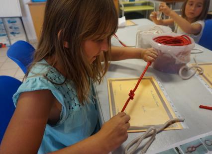 L'Art des Noeuds atelier enfants Haliotika Guilvinec