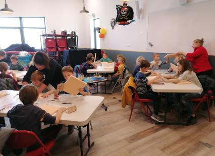 Atelier enfants Chantier Naval Haliotika Guilvinec