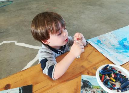 Atelier enfants Petit chantier naval Haliotika Guilvinec
