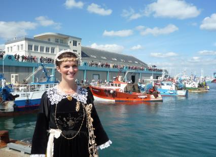 Reine de Cornouaille 2013 au port du Guilvinec