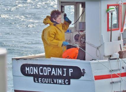 Rencontre avec Scarlette, femme marin-pêcheur