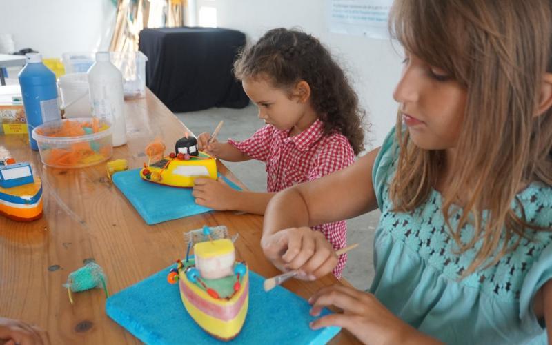 Atelier enfant Chantier naval Haliotika Guilvinec