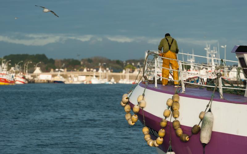 retour pêche bateau Haliotika Guilvinec
